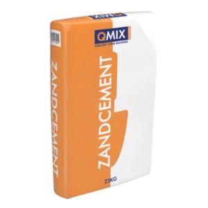 Zandcement mortel Q-mix C12/F2 zak à 25kg